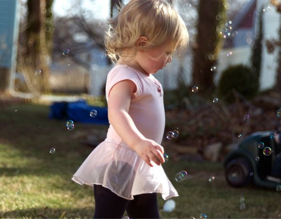 Nothing says spring like a bubble machine