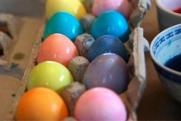 Easter Part I: The Eggs