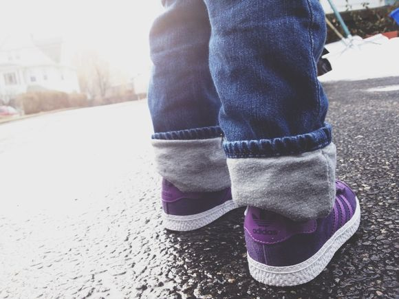 * purple